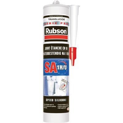 Mastic silicone - Acétique - Rubson