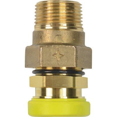 Raccord PLT conique - Spécial gaz naturel - Mâle