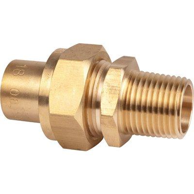 Raccord 3 pièces - Spécial gaz naturel - À souder sur cuivre