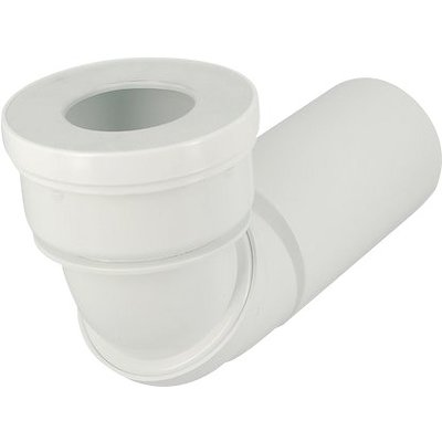Pipe WC orientable