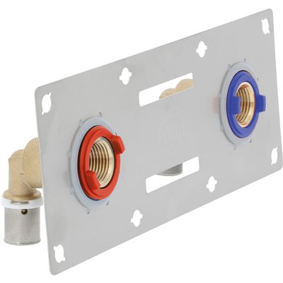 Sertifix double entraxe 150 mm - 13 x 16 mm - À sertir - PB tub