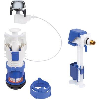 Mécanisme de chasse universelle à câble et robinet flotteur Rob'control