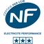 NF Electricité Performance catégorie 3 étoiles
