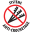 Anti-crochetage