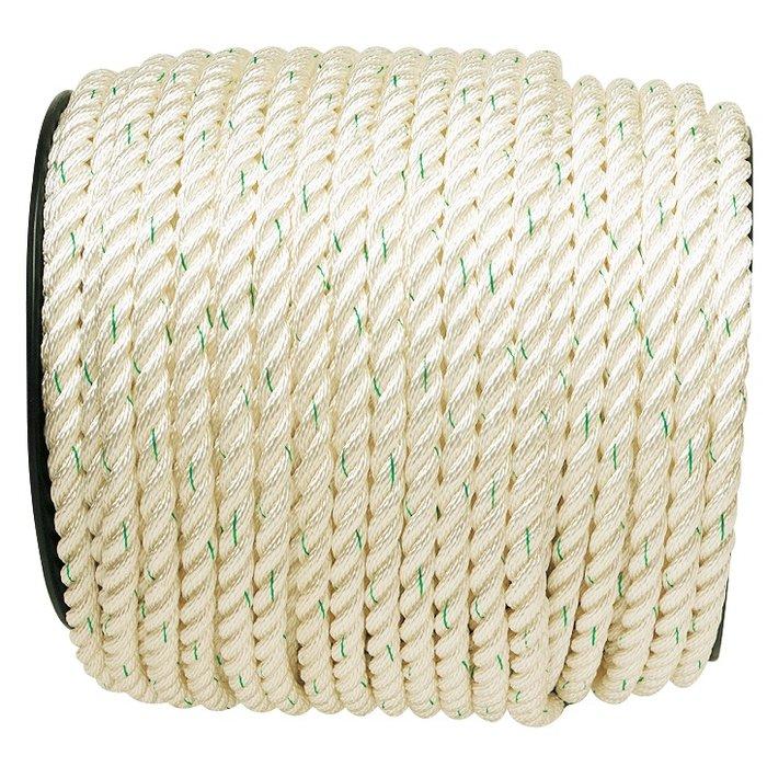 Bobine de corde polyamide - Nylon blanc-1