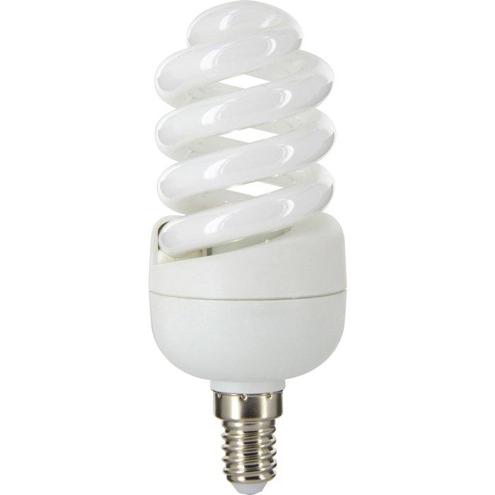 Ampoule fluocompact spirale E14