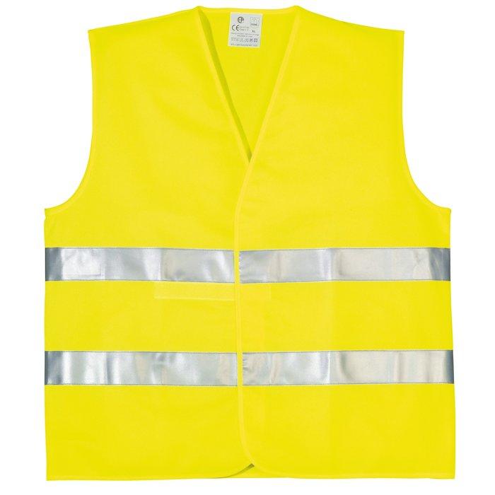 Gilet de signalisation haute visibilité Eco - Polyester - Fluorescent