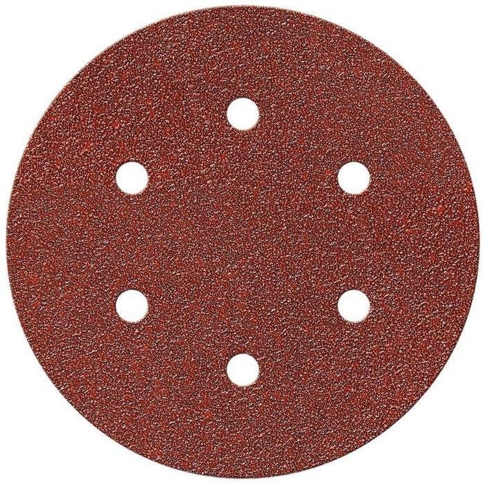 Disque abrasif auto-agrippant - Papier - Diamètre 150 mm - 6 trous-2