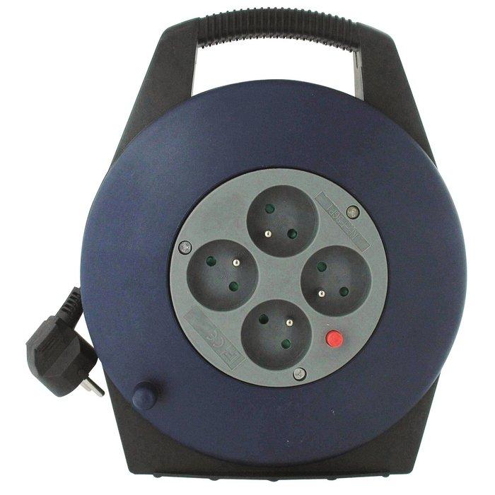 Enrouleur électrique domestique - Câble 3G1 mm² - Longueur 10 m
