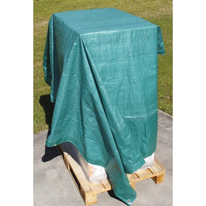 Bâche de protection de chantier légère - Polyéthylène tissé (± 90 g/m²)