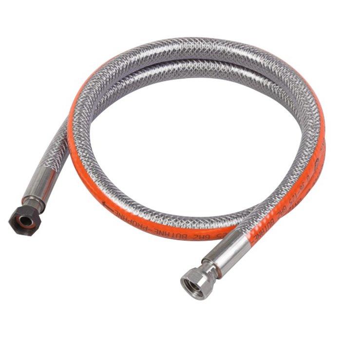 Flexible gaz butane et propane - Inox - Durée de vie illimitée