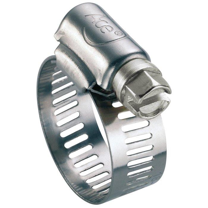 Collier de serrage W2 - Bande perforée - Acier zingué-inox-1