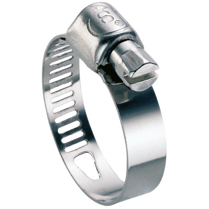Collier de serrage W4 - Bande perforée - Inox