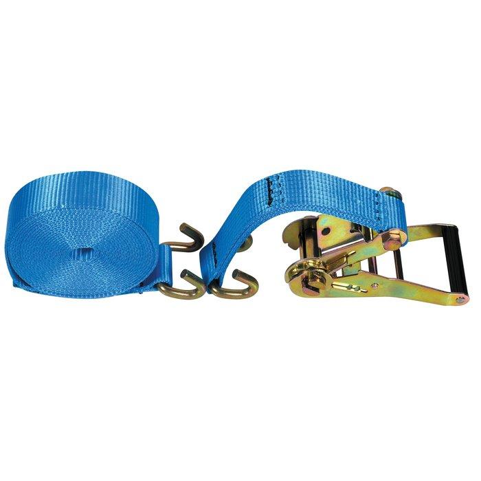 Sangle d'arrimage Pro - Polyester - Largeur 50 mm - Charge 5,3 kg