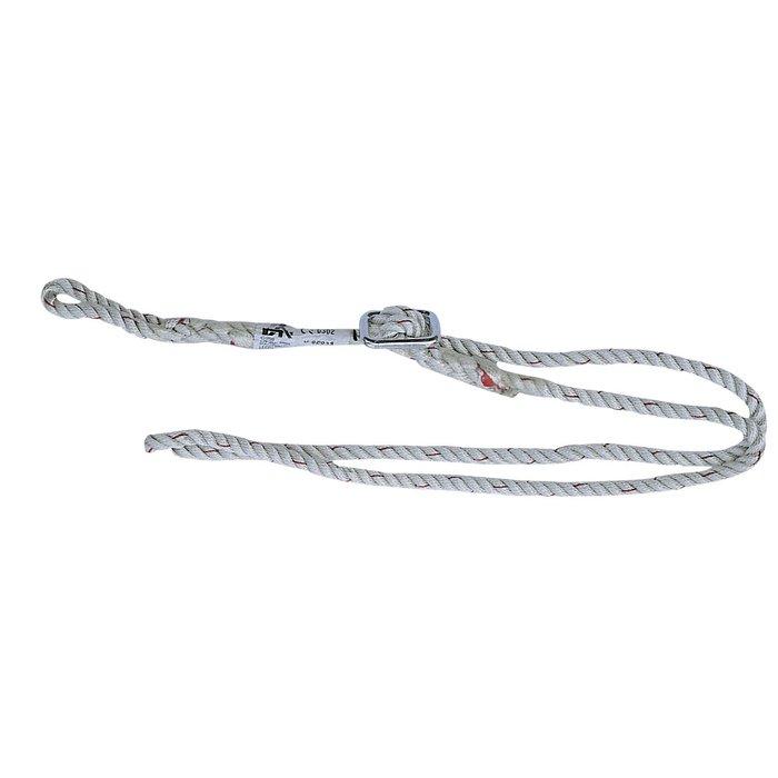 Longe de sécurité réglable - 2 boucles avec 1 réglable - Longueur 1,8 m - Charge maximale 300 kg-1