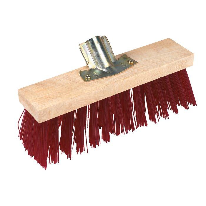 Tête de balais - PVC - Longueur 32 cm - Rouge-1