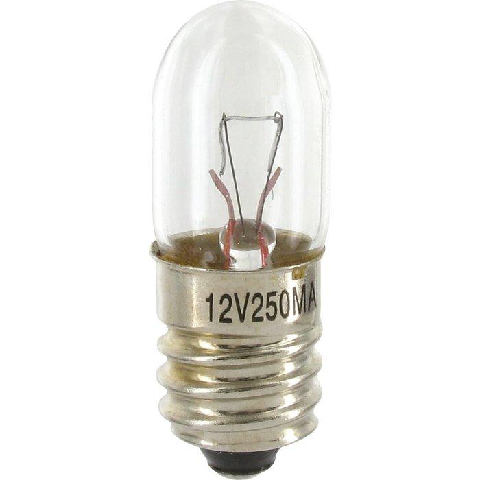 Ampoule halogène principale - Pour bloc lumineux - Culot E10-1