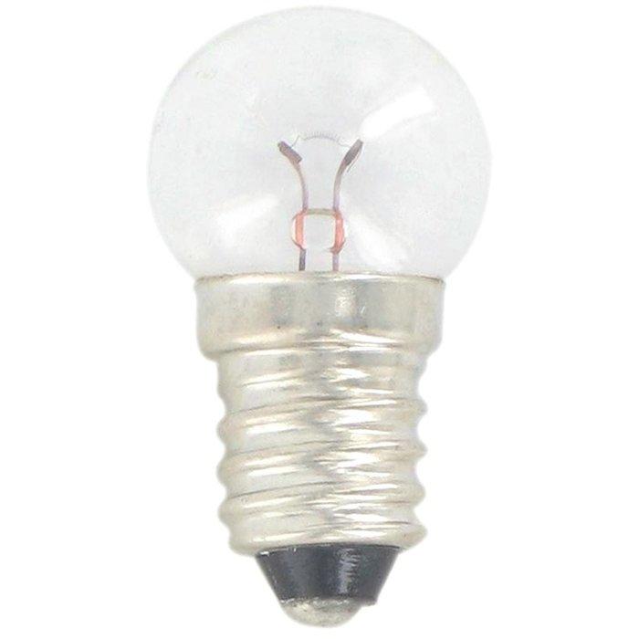 Ampoule xenon - Pour lampe torche - Culot à vis - Tension 4 V-1
