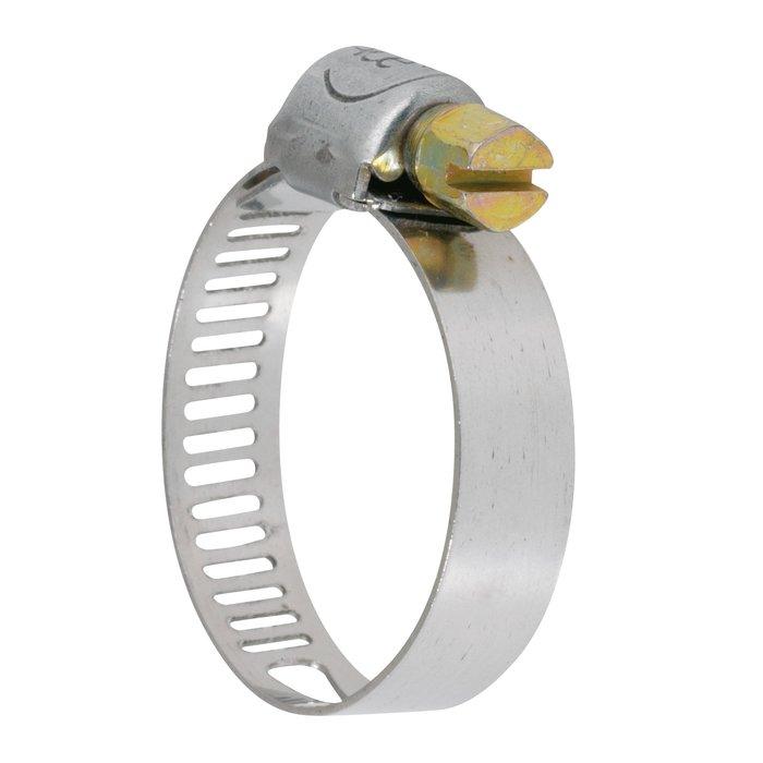 Collier de serrage W2 - Bande perforée - Acier zingué-inox