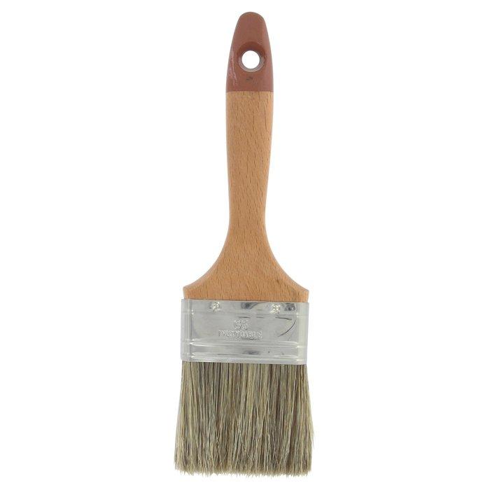 Pinceau queue de morue Pro - Manche en bois - Spécial lasure-3