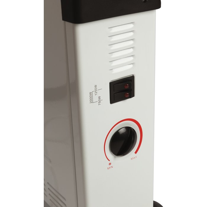 Convecteur électrique mobile - Turbo ventilation - Puissance 750 / 1250 / 2000 W-3