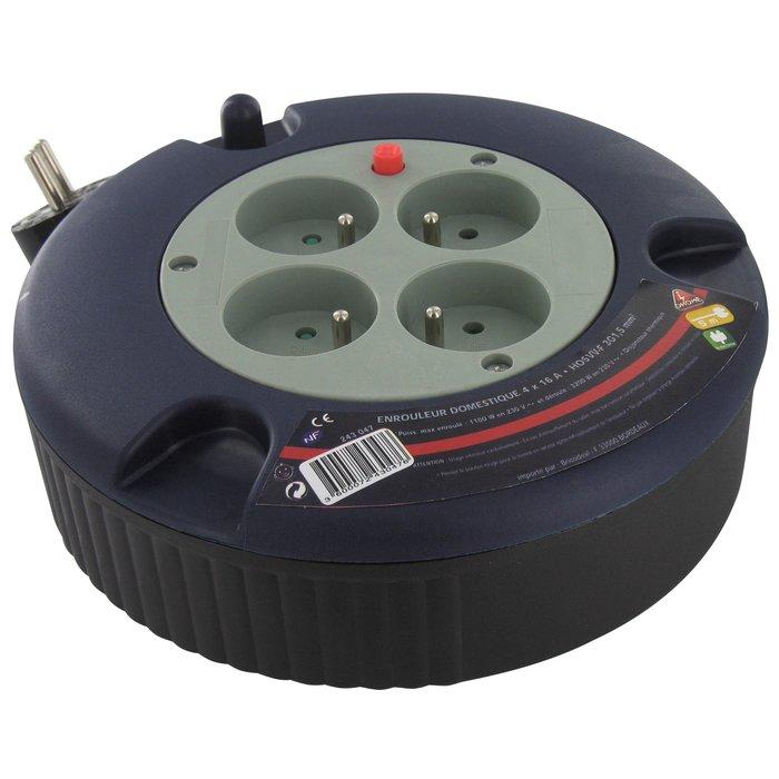 Enrouleur électrique domestique - Câble  3G1,5 mm² - Longueur 5 m-2