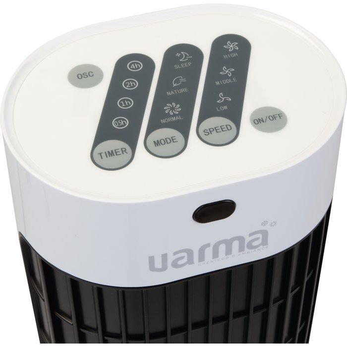 Ventilateur colonne oscillant - Puissance 40 W - Noir-6