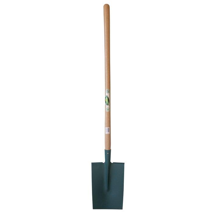 Bêche Senlis à rebords - Manche en bois - Longueur 1 m-2