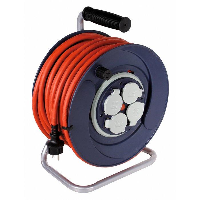 Enrouleur électrique de chantier - Moyeu fixe