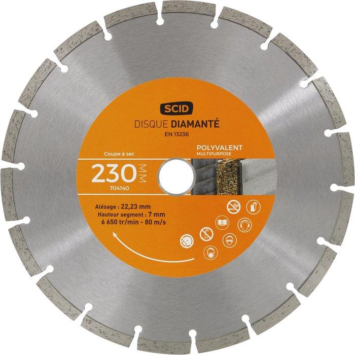 Disque diamant polyvalent standard
