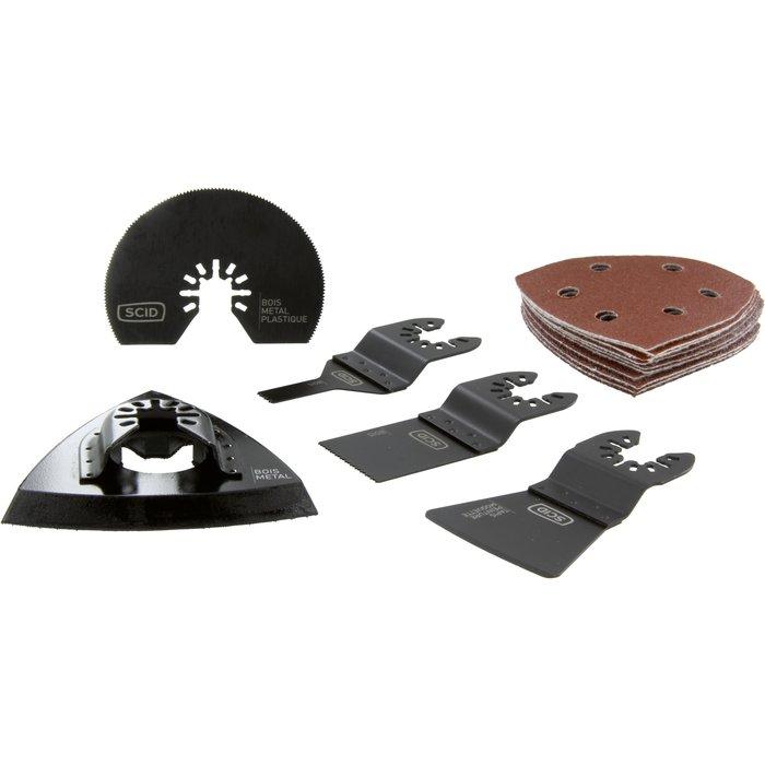 Accessoires pour outils multifonctions - Jeu de 15 pièces-2