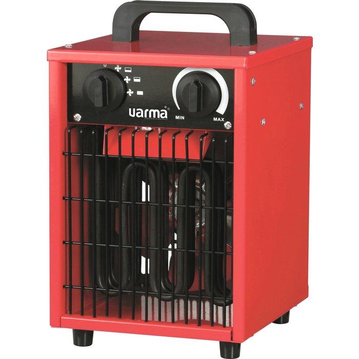 Radiateur électrique d'appoint pour chantier - Cube - Puissance 1000 / 2000 / 3000 W-2
