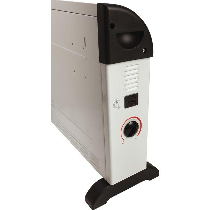 Convecteur électrique mobile - Turbo ventilation - Puissance 750 / 1250 / 2000 W-2