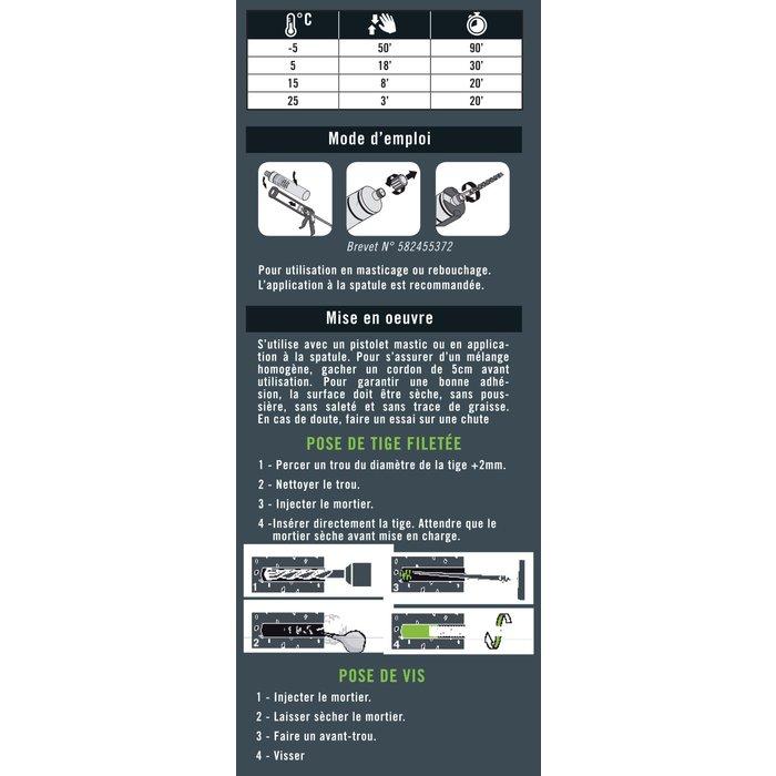 Mastic de réparation Polibois - Spécial bois-4