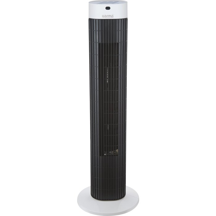 Ventilateur colonne oscillant - Puissance 40 W - Noir