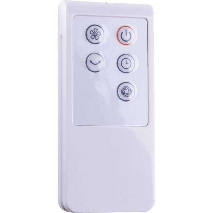 Ventilateur colonne oscillant - Puissance 40 W - Noir-2