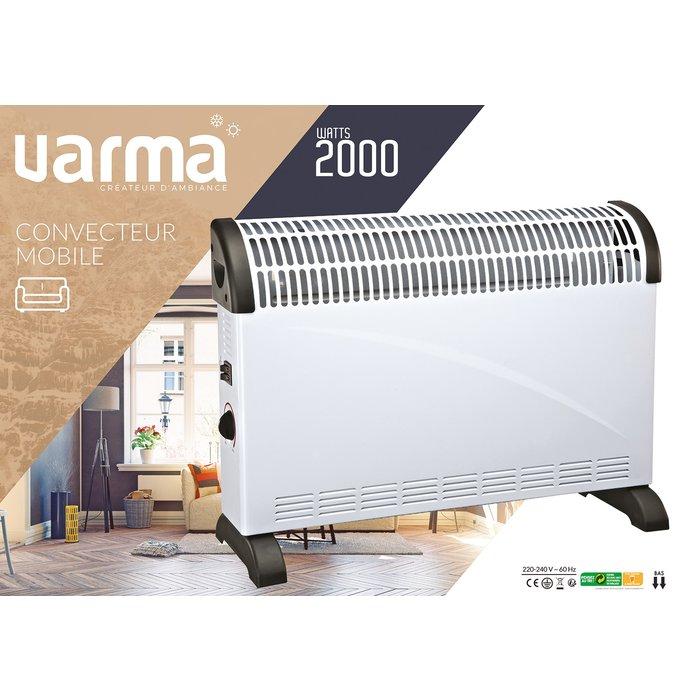 Convecteur électrique mobile - Puissance 750 / 1250 / 2000 W-2