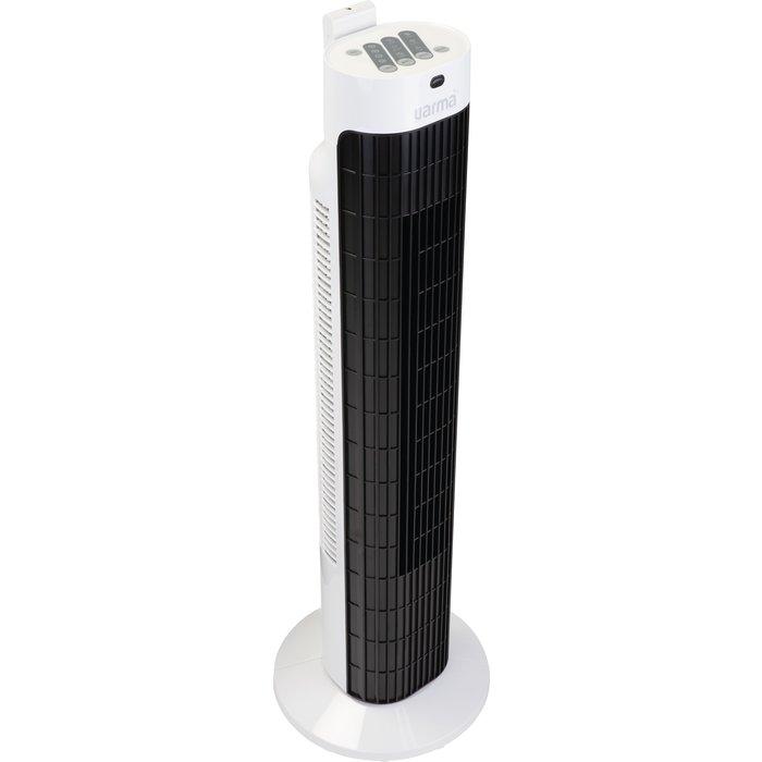 Ventilateur colonne oscillant - Puissance 40 W - Noir-4