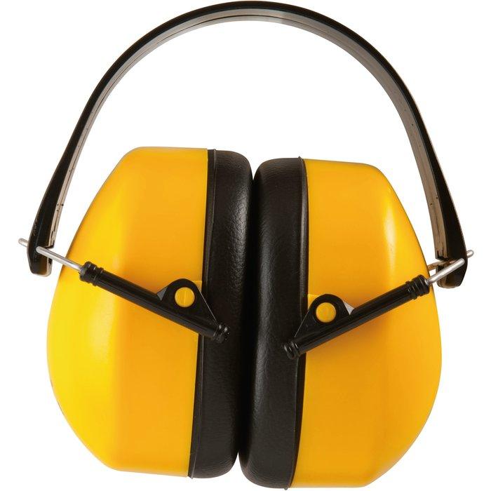 Casque anti-bruit - Jaune - Réduction sonore 30 dB