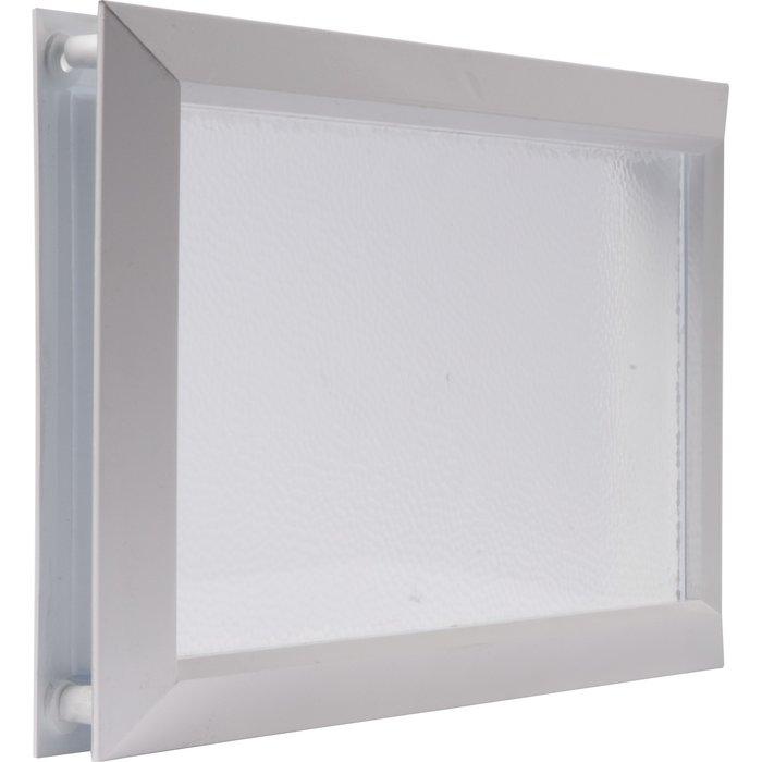 Hublot rectangulaire pour porte de garage - Dimension 225 x 380 mm