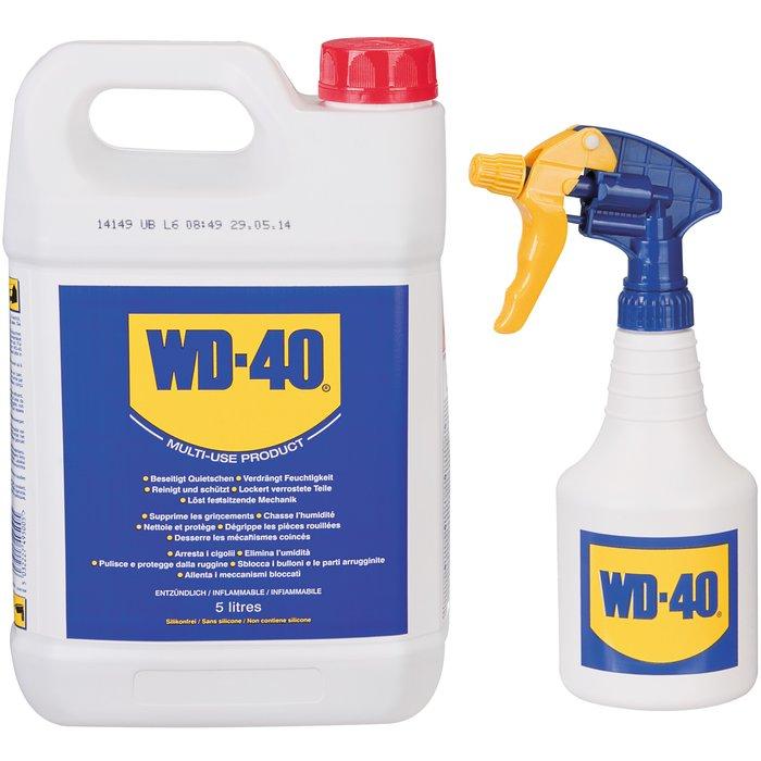 Dégrippant lubrifiant - Anticorrosion - Bidon et pulvérisateur-1
