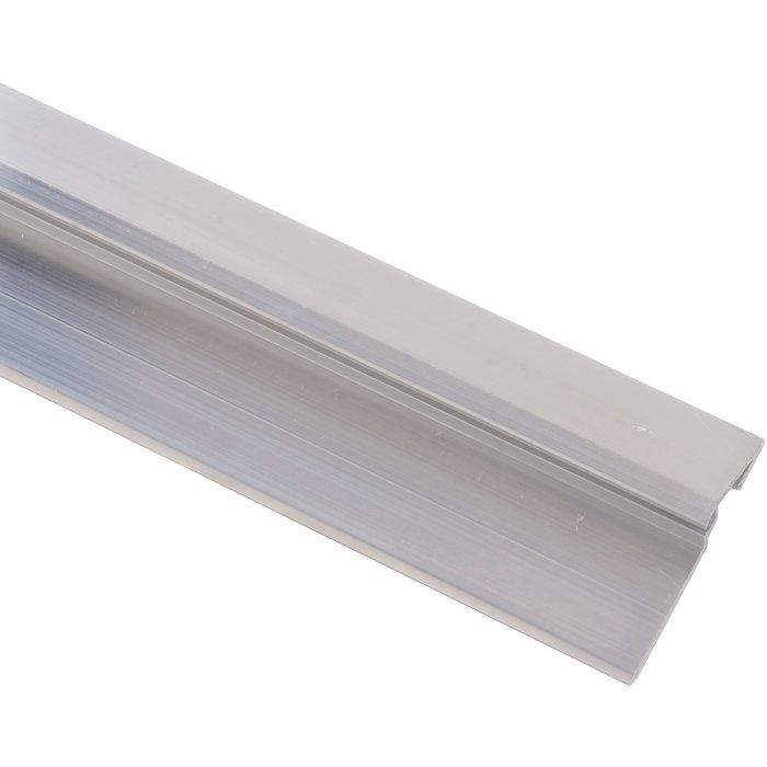 Seuil Rivinox 4113 - Pour porte extérieure - Aluminium - Longueur 4 m