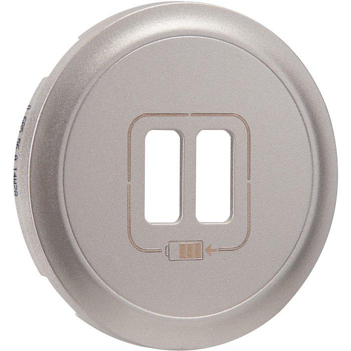 Enjoliveur de prise chargeur USB - Double-2