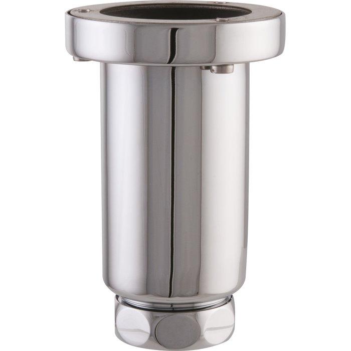 Siphon d'urinoir - Laiton chromé