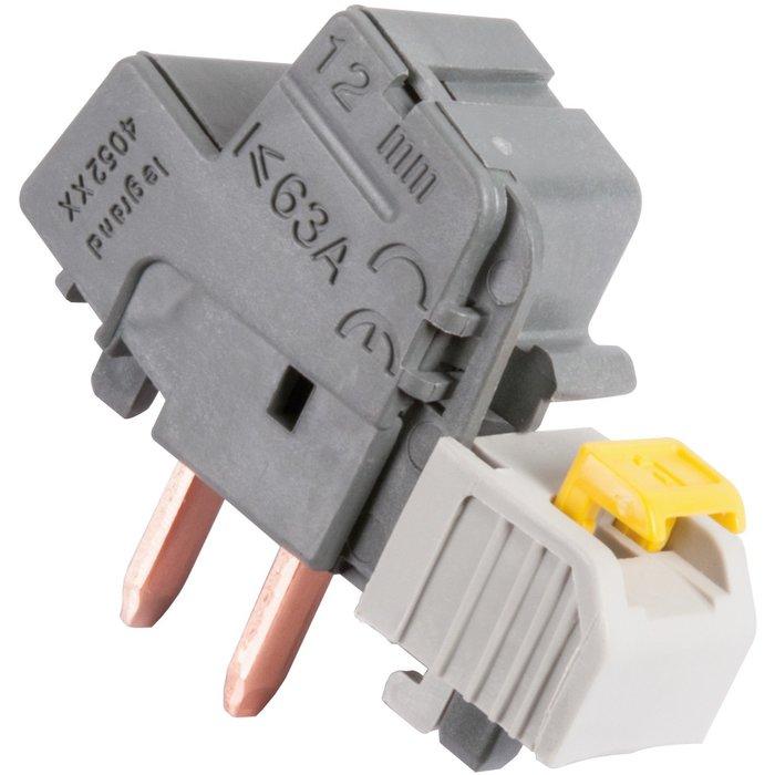 Borne de raccordement électrique - Connexion automatique - Section 6 à 25 mm²