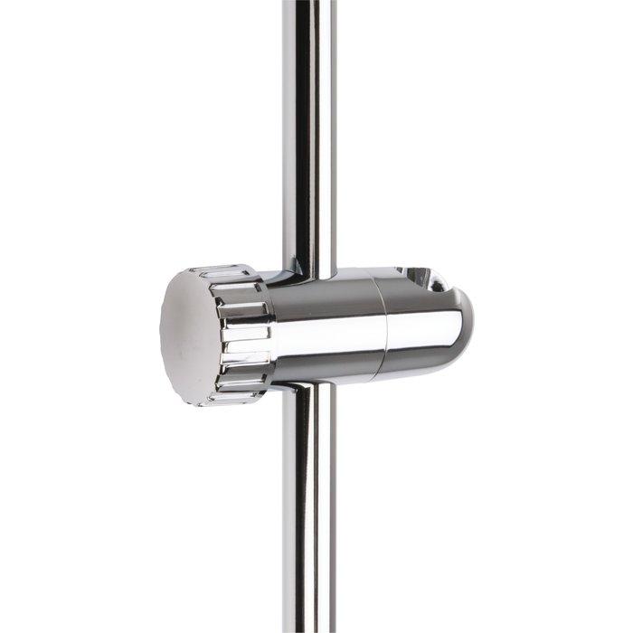 Curseur de barre de douche à molette Odyssea - Diamètre barre 19 mm