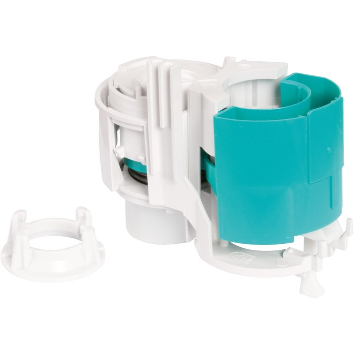 Récepteur pneumatique double débit