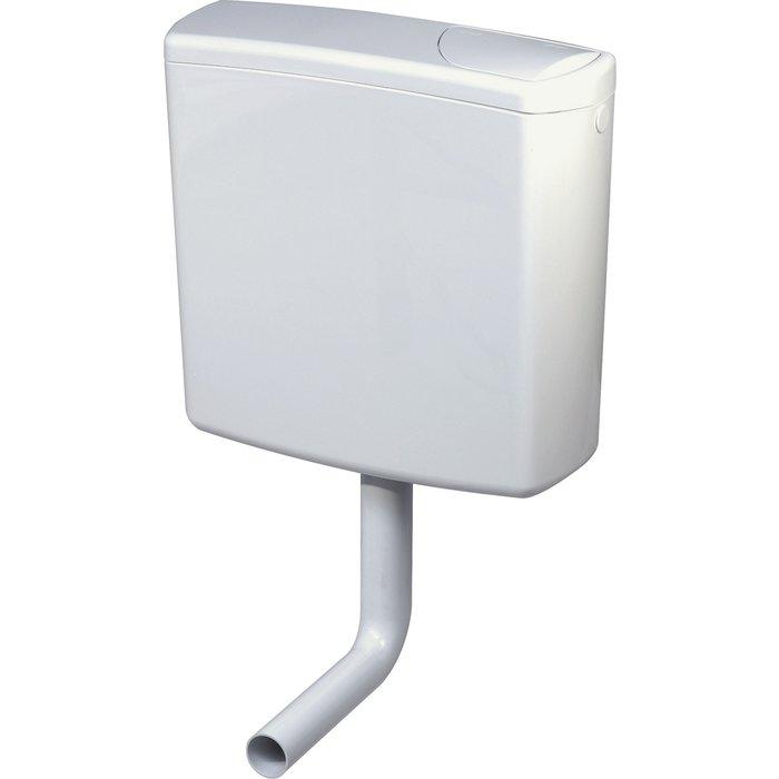 Réservoir WC AP 140 - Semi-bas - Simple débit