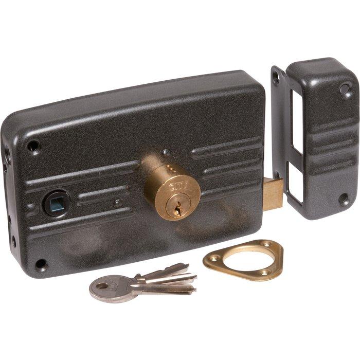 Serrure de sûreté en applique horizontale City 5G - À fouillot - Axe 60 mm