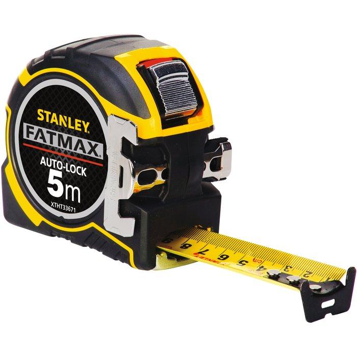 Mètre ruban magnétique 5 m Fatmax Blade Armor - Boîtier ergonomique bi-matière